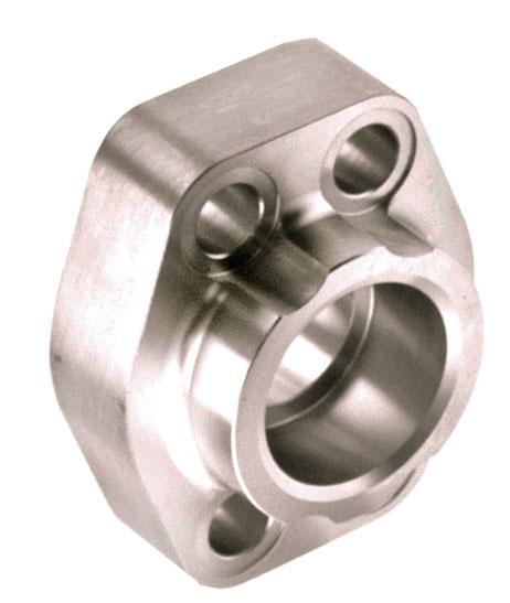 CD61/CD62 Deep Socket Weld Pipe 4-Bolt Stainless Steel Flanges ...  sc 1 st  Categories On Anchor Fluid Power & Item # W31-24-24-S/S CD61/CD62 Deep Socket Weld Pipe 4-Bolt ...