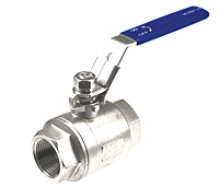 MV2B 2000 WOG Two-Way Stainless Steel Ball Valves