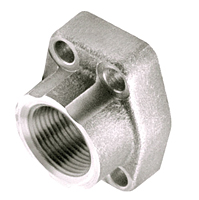 CD61/CD62 BSPP Thread 4-Bolt Flanges