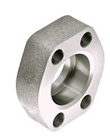 CD61/CD62 Flat Socket Weld Pipe 4-Bolt Flanges