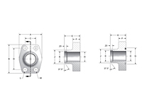 CD61 Schedule 40/80/160 Butt Weld 4-Bolt Flanges