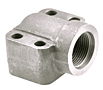 CD61/CD62 Elbow NPTF & SAE Thread 4-Bolt Flanges