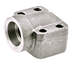CD61 Elbow Socket Weld Pipe 4-Bolt Flanges