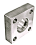 6000 Series Flat Socket Weld Square 4-Bolt Flanges