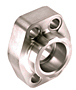 CD61/CD62 Deep Socket Weld Pipe 4-Bolt Stainless Steel Flanges
