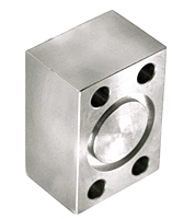 CD61/CD62 Blanking 4-Bolt Stainless Steel Flanges