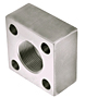 3000 Series NPTF Thread Square 4-Bolt Flanges