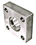 3000 Series Square Socket Weld 4-Bolt Flanges