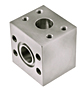 CD61/CD62 Tee Junction Stainless Steel Blocks